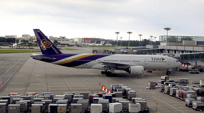 7泰国航空公司(Thai Airways) 80.50%