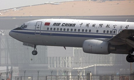 An Air China jet