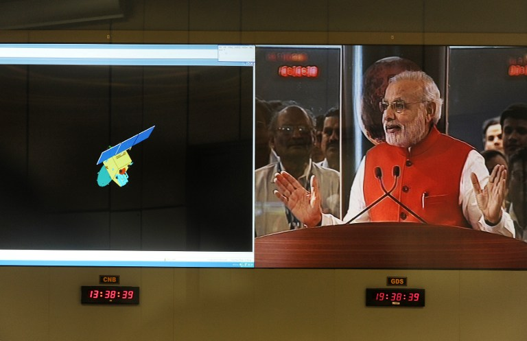 INDIA-SPACE-SCIENCE-MARS