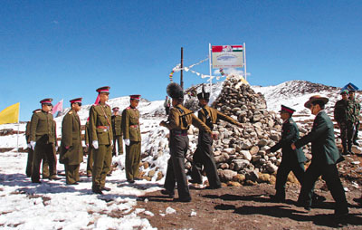 INDIA CHINA BORDER TALKS