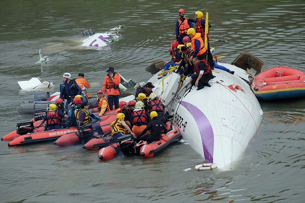 TAIWAN-PLANE-ACCIDENT