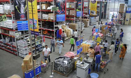 MDG : India : Supermarket : Bharti Wal-Mart Best Price wholesale store in Manawala