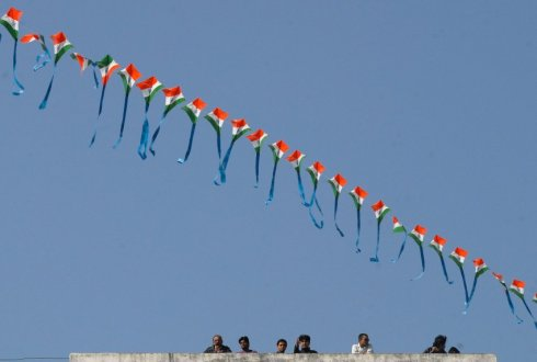 22nd International Kite Festival in Ahmedabad
